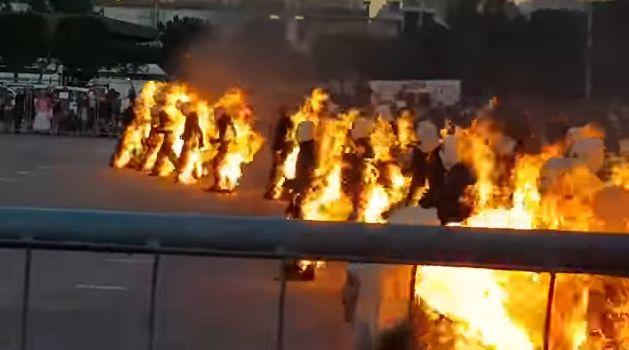ギネス記録 火だるま 動画 狂気に関連した画像-01