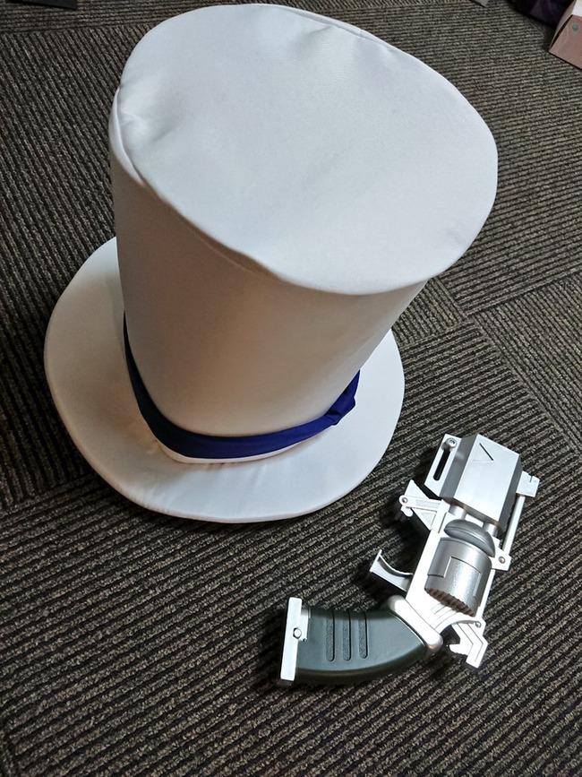 名探偵コナン 怪盗キッド コスプレ シルクハット 注文 大きさに関連した画像-02