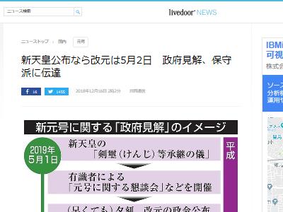 政府 平成 新元号 日付 公表 改元に関連した画像-02