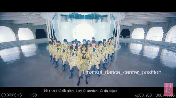 AKB48 新曲 MV ミュージックビデオ 松井珠理奈 CGに関連した画像-01