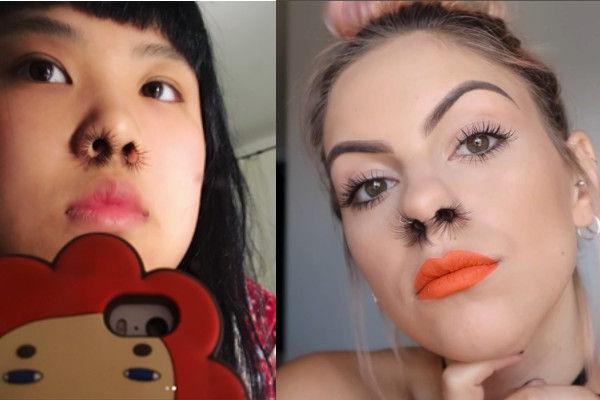 インスタグラム 鼻毛エクステ インスタ映えに関連した画像-01