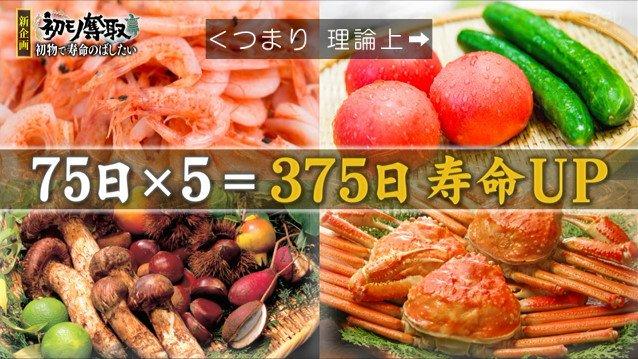 TOKIO 鉄腕ダッシュ 城島茂 リーダー 不老不死 初物 野菜 寿命に関連した画像-04
