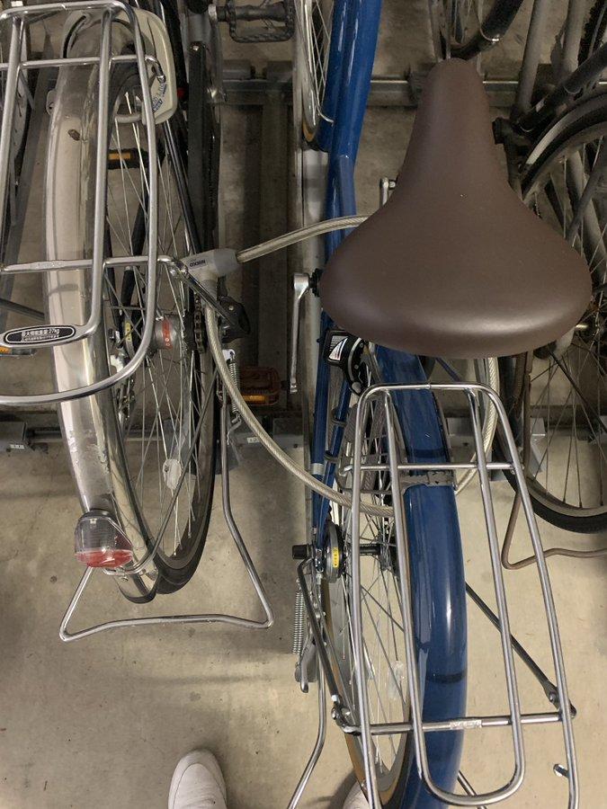 駐輪場 自転車 鍵 ワイヤーに関連した画像-02