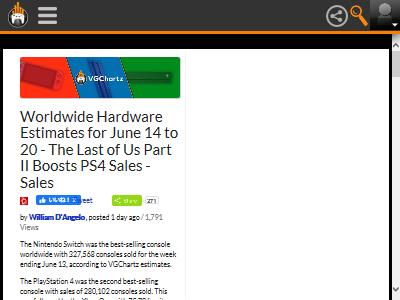 ラスアス ラスアス2 ラストオブアス ラストオブアス2 PS4 売上 牽引に関連した画像-02