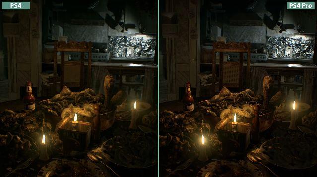 バイオハザード 比較 PS4 PS4Proに関連した画像-03