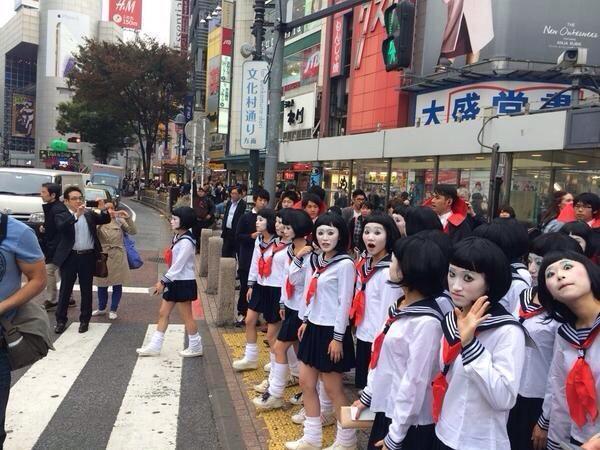渋谷 怪盗キッド ハロウィンに関連した画像-06