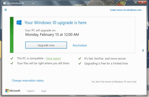 ウインドウズ Windows10 Windows マイクロソフト MS 半強制 アップグレード 今夜アップグレード 二択に関連した画像-04