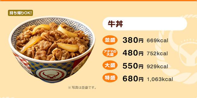 すき家 牛丼 値上げに関連した画像-07