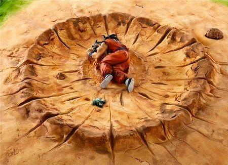 ドラゴンボール ヤムチャ フィギュア ジオラマ 土台 代用 アップルパイ ツイッター ツイートに関連した画像-01