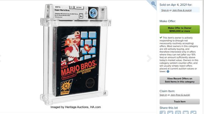 スーパーマリオブラザーズ ゼルダの伝説 レトロゲーム 高額落札 異常 黒幕 調査に関連した画像-01