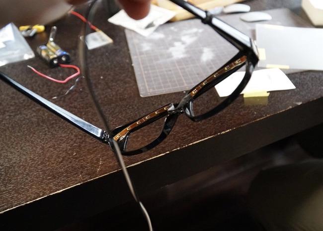 メガネ 光る メガネキャラ LED 自作に関連した画像-03