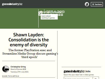 統合 合併 多様性 ゲーム業界 ショーンレイデンに関連した画像-02
