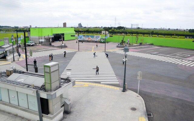 栃木県 足利市 渋谷 スクランブル交差点 撮影セットに関連した画像-03