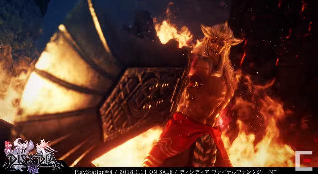 ディシディアファイナルファンタジーNT アーケード PS4版 オープニングに関連した画像-05