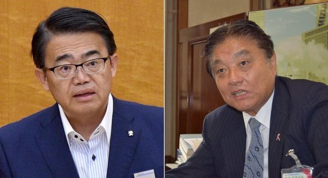 大村知事 河村市長 金メダル 交換 政治利用に関連した画像-01