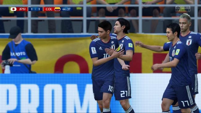 サッカーワールドカップ 日本VSコロンビア シミュレーションに関連した画像-01