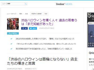 渋谷 ハロウィン 騒動 ギャル ギャル男に関連した画像-02