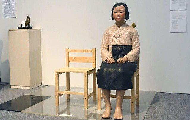 慰安婦 少女像 アンケート あいちトリエンナーレに関連した画像-01