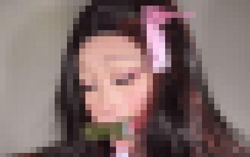 叶美香 鬼滅の刃 禰豆子 コスプレ に関連した画像-01