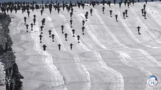 雪山 自転車 地獄絵図 地獄の山に関連した画像-01