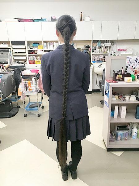 世界一髪の長い10代 ギネス 日本 女子高生に関連した画像-04