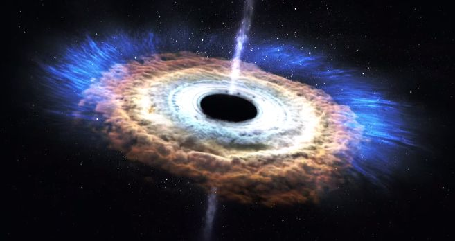 ブラックホール 星 宇宙に関連した画像-01
