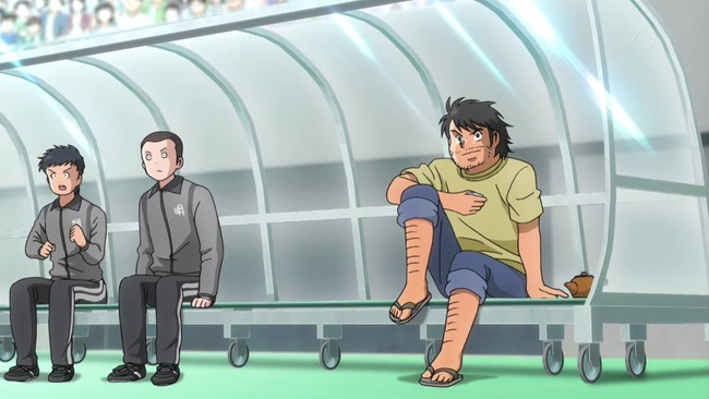 キャプテン翼 吉良耕三 お酒 酔っぱらい 改変 お茶に関連した画像-04