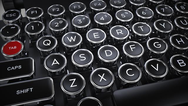 キーボード タイプライター おしゃれ かっこいいに関連した画像-05