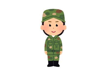男女平等 軍隊 訓練 バックレに関連した画像-01