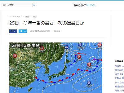 気温 天気予報 猛暑日に関連した画像-02