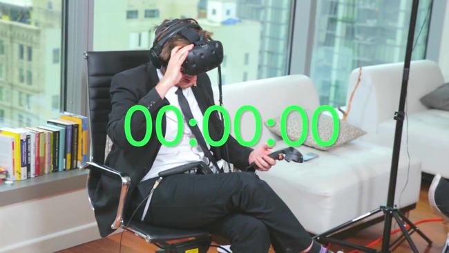 VR生活 連続 ヴァーチャルリアリティ 25時間 ギネス世界記録 VRに関連した画像-12