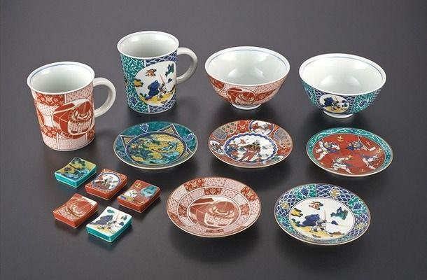 機動戦士ガンダム 九谷焼 伝統工芸 プレミアムバンダイ 箸置き 豆皿 茶碗 マグカップに関連した画像-03