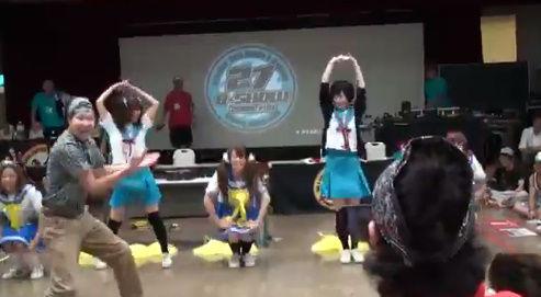 らきすた ダンス 乱入 オタク RAB 涼宮あつき ダンサーに関連した画像-08