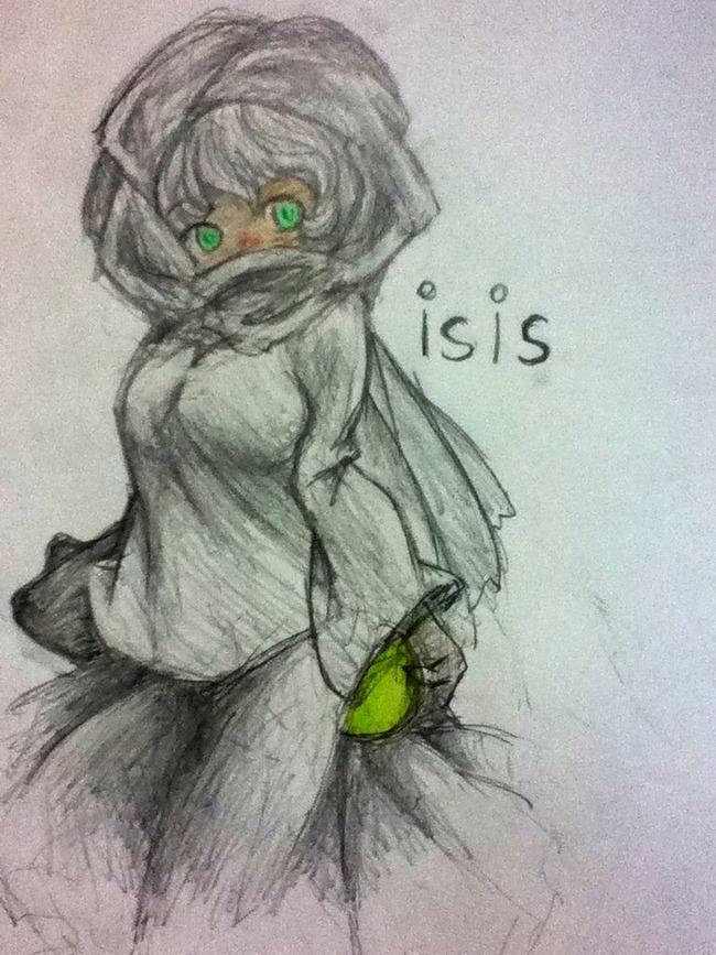 ISISちゃん 萌えキャラに関連した画像-07