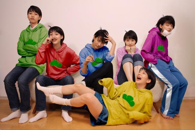 能年玲奈 おそ松さん コスプレ 1人6役 エイプリルフール クオリティ カラ松に関連した画像-03