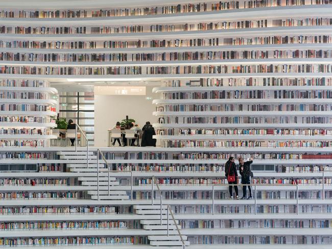 中国 図書館 浜海新区図書館に関連した画像-01