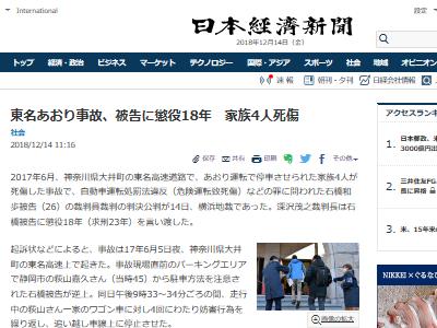 あおり運転 懲役 東名高速に関連した画像-02