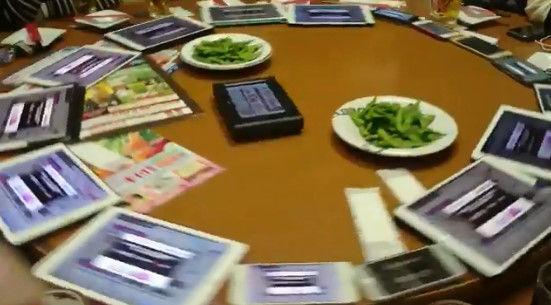オタク ガチャ 中華テーブル ターンテーブル デレステ アイマス 二次会に関連した画像-03