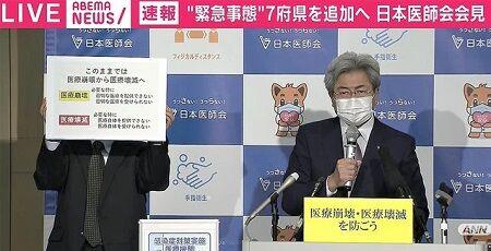 医療崩壊 医療壊滅 治療 新型コロナウイルス 日本医師会 病院に関連した画像-01