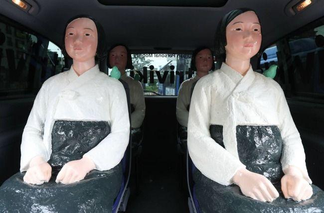 ソウル バス 慰安婦像に関連した画像-01