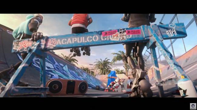 E3 ユービーアイソフト カンファレンス2019 Roller Champions スポーツゲームに関連した画像-04