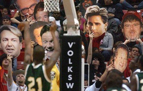 バスケ フリースロー 邪魔をする 動画 爆笑 海外 NBAに関連した画像-08