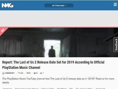 ラストオブアス2 発売日 2019年 PSミュージックチャンネルに関連した画像-02