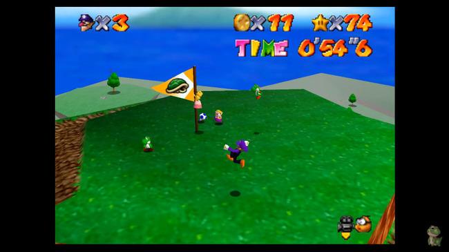 スーパーマリオ64 オンライン 非公認 無許可 Modに関連した画像-08