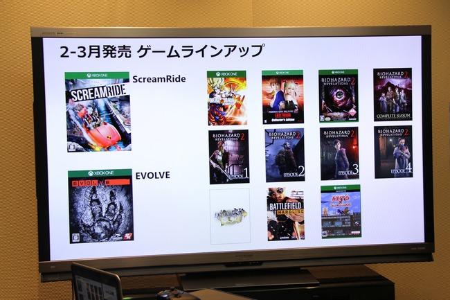 日本マイクロソフト XboxOne ラインナップに関連した画像-03