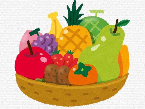 果物 甘み 成分 ブドウ リンゴ ナシ キウイ モモ バナナに関連した画像-01