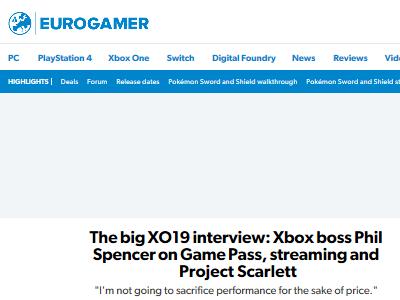 XboxOne マイクロソフト フィル・スペンサー 売上 収益 Xbox GamePassに関連した画像-02