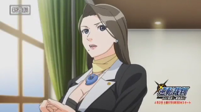 TVアニメ 逆転裁判 番宣 CM 春アニメ 梶裕貴 ナルホド君に関連した画像-04