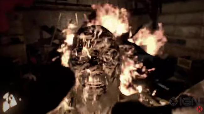 閲覧注意 バイオハザード バイオハザード7 プレイ映像 ヘッドショット 火ダルマ 不死身 おっさんに関連した画像-14
