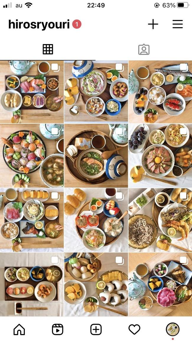 男子 大学生 半年 インスタ 料理 投稿 し続ける 結果に関連した画像-03